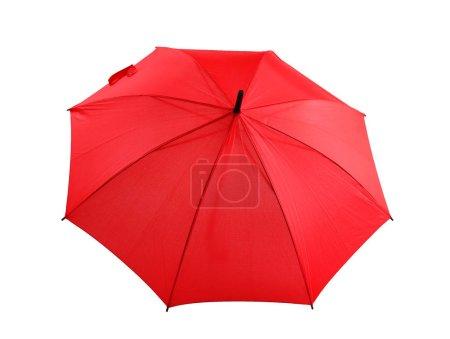 Stylish red umbrella