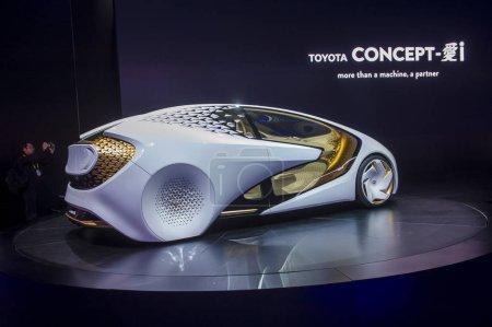LAS VEGAS - JAN 08 : Toyota Concept car at the CES...