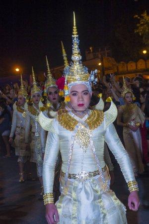 CHIANG MAI , THAILAND - NOV 04 : Participants in a...