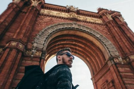 trip to the triumphal arch Barcelona Spain