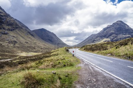 Photo for The road to Glencoe in the scottish highlands, uk - Royalty Free Image