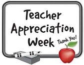 Teacher Appreciation Week Whiteboard Thank You! Apple