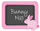 Baby Bunny Rabbit Nap time Nursery Bulletin Board Bunny Nap