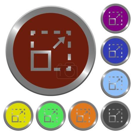 Maximize element color buttons