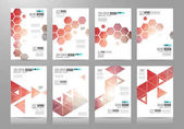 Set of Brochure templates
