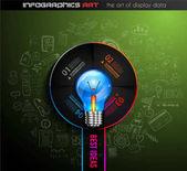 idea lightbulb,  template