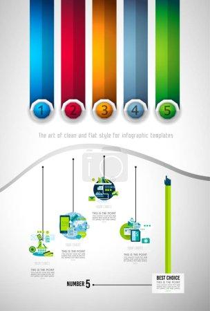 Infograph Brochure template