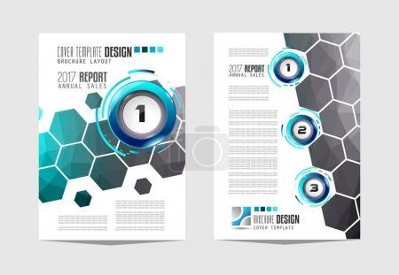 Brochure template, Flyer Design