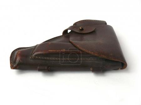 Vintage holster PM Makarov pistol, officer's holster Pistol holster Leather holster Revolver holster Western gun holster Gun holder