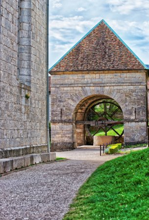 Well in citadel in Besancon in Bourgogne Franche Comte France