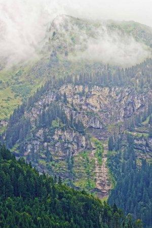 Photo pour Montagne Brienzer Rothorn à Brienz à Interlaken dans le canton de Berne en Suisse - image libre de droit
