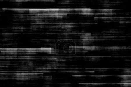 black and white background realistic flickering, analog vintage TV signal with bad interference, static noise background