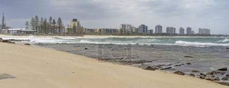 Australian panorama Sunshine Coast seafront