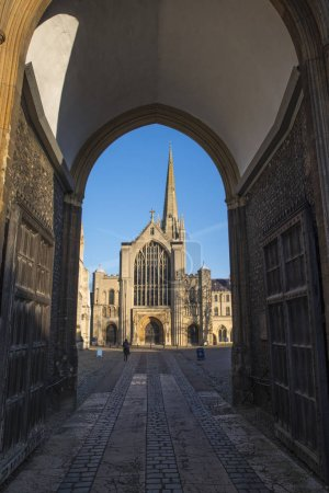 Norwich Cathedral Through the Erpingham Gate