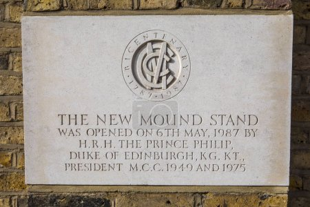The New Mound Stand at Lords Cricket Ground