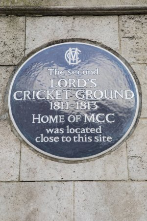 The Second Lords Cricket Ground