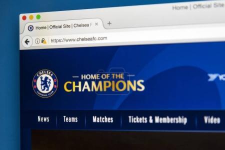 Сайт ФК Челси