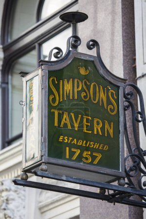 Simpsons Tavern in London