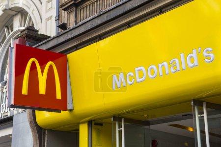 McDonalds on Oxford Street in