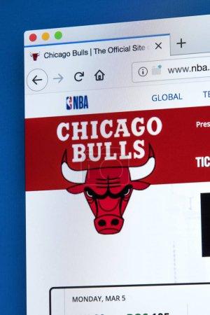 Сайт Чикаго Буллз