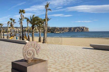 View of Cap de Sant Antoni from Arenal Beach in Xabia