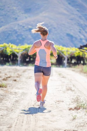 woman athlete  jogging