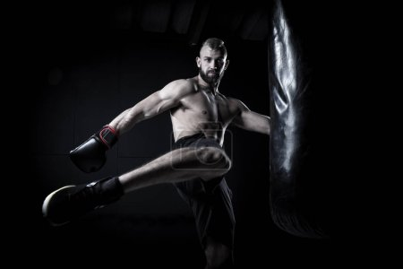 Male Athlete boxer