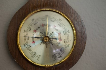 Old wooden  compass