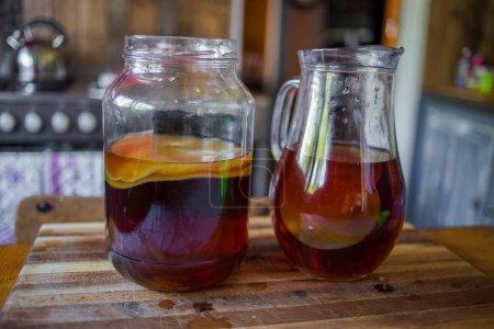 Step by Step how to make Kombucha tea