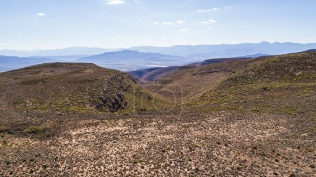 Aerial views of the valleys around Robertson in the Breede Valle