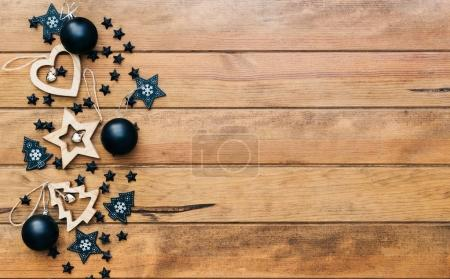 Christmas or Happy New Year 2018 background