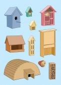 House in garden for animals