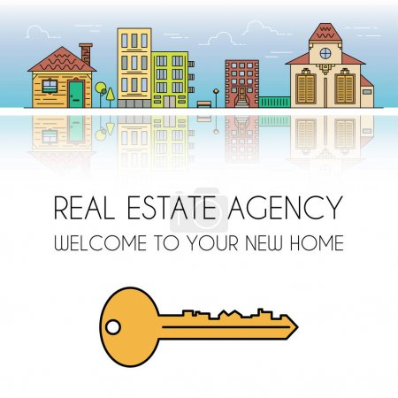 Real estate agency advert