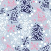 Graphic illustration with seamless pattern 18