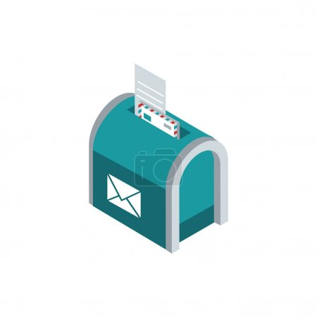 Mailbox envelope papers correspondence postal mail...