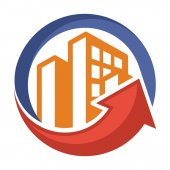 Icon logo for business development of construction services