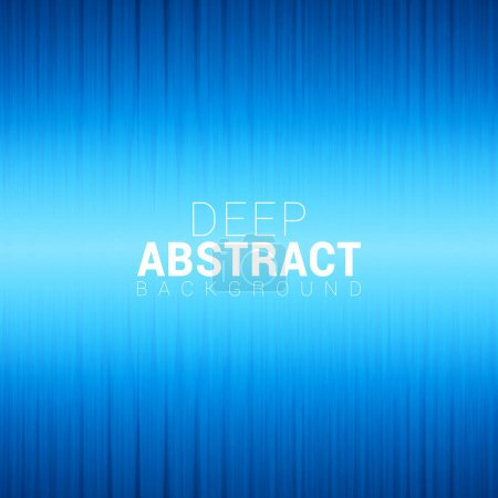 Illustration for Blue abstract glowing neon texture. Deep abstract background text. Vector illustration - Royalty Free Image