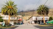 Main crossing in Alausi, Ecuador
