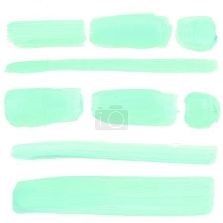 watercolor stains set