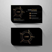 business name card Digital Black 02