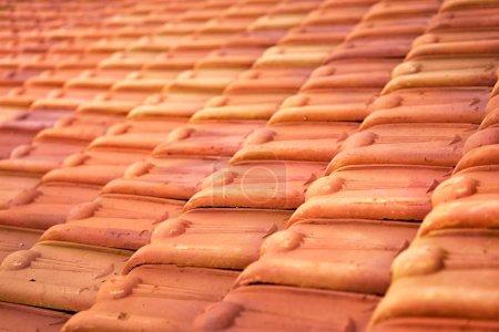 Tile roof pattern