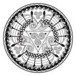 Viking Drakkar. Viking Drakkar. Design of the thre...
