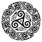Round Celtic Design Celtic mandala