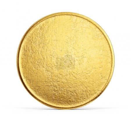old golden coin