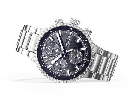 montre-bracelet isolé sur blanc