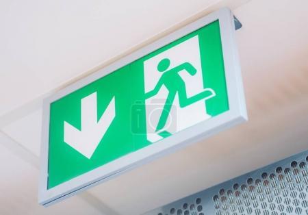 Evacuation Exit Interior Sign