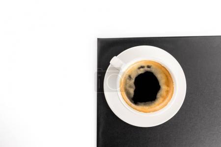 espresso coffee in cup
