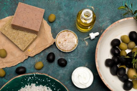 Ingredients for homemade cosmetics