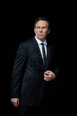 Serious mature businessman
