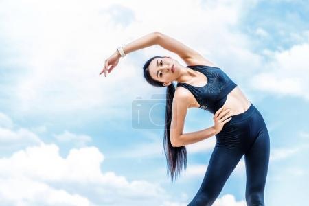 asian sportswoman
